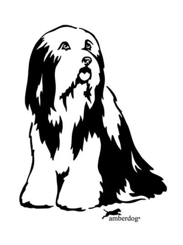 Bearded Collie Grafiklizenz