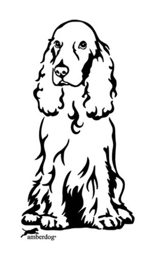 Cocker Spaniel Grafiklizenz