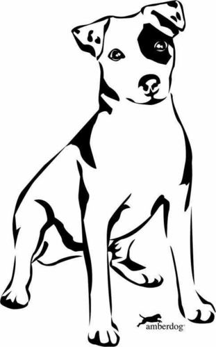 Jack Russel Terrier wall decal