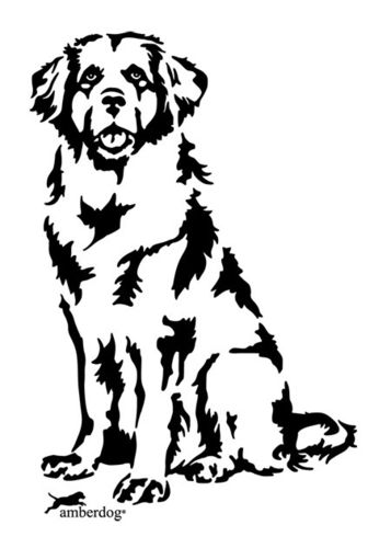 Leonberger wall decal