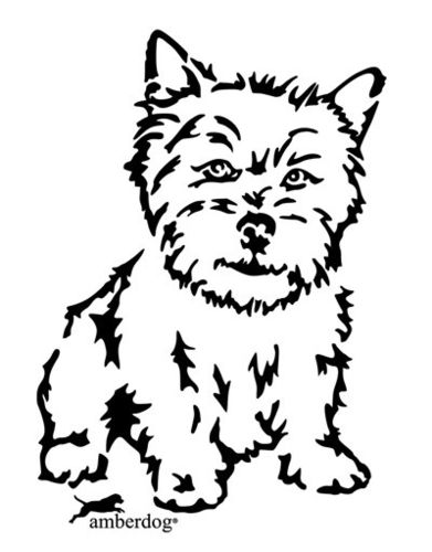 Norwich Terrier Wall decal