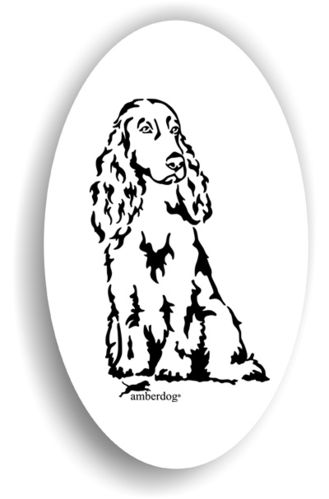 Field Spaniel Sticker