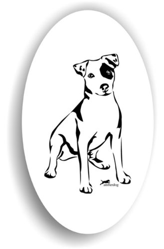 Jack Russel Terrier Sticker