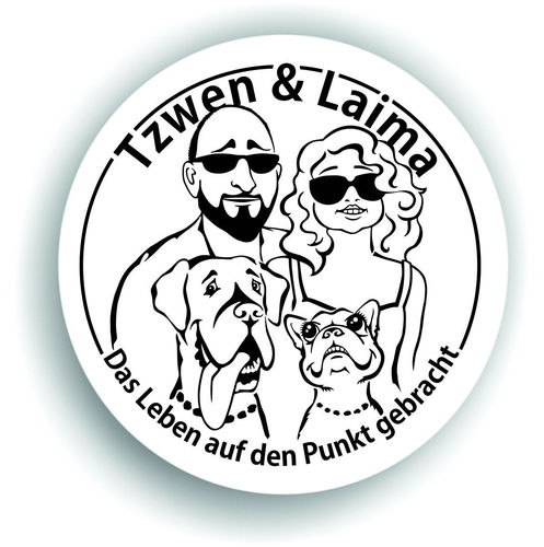Tzwen & Laima Sticker