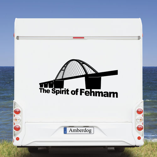Spirit of Fehmarn motorhome caravan stickers