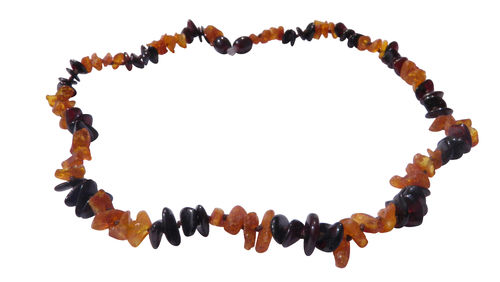 Amber necklace natural mix