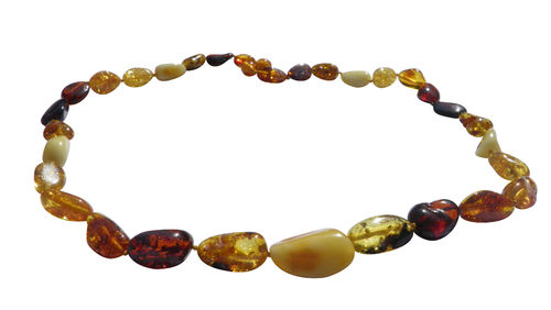 Amber necklace candy